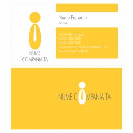 Model carti de vizita EK 20090